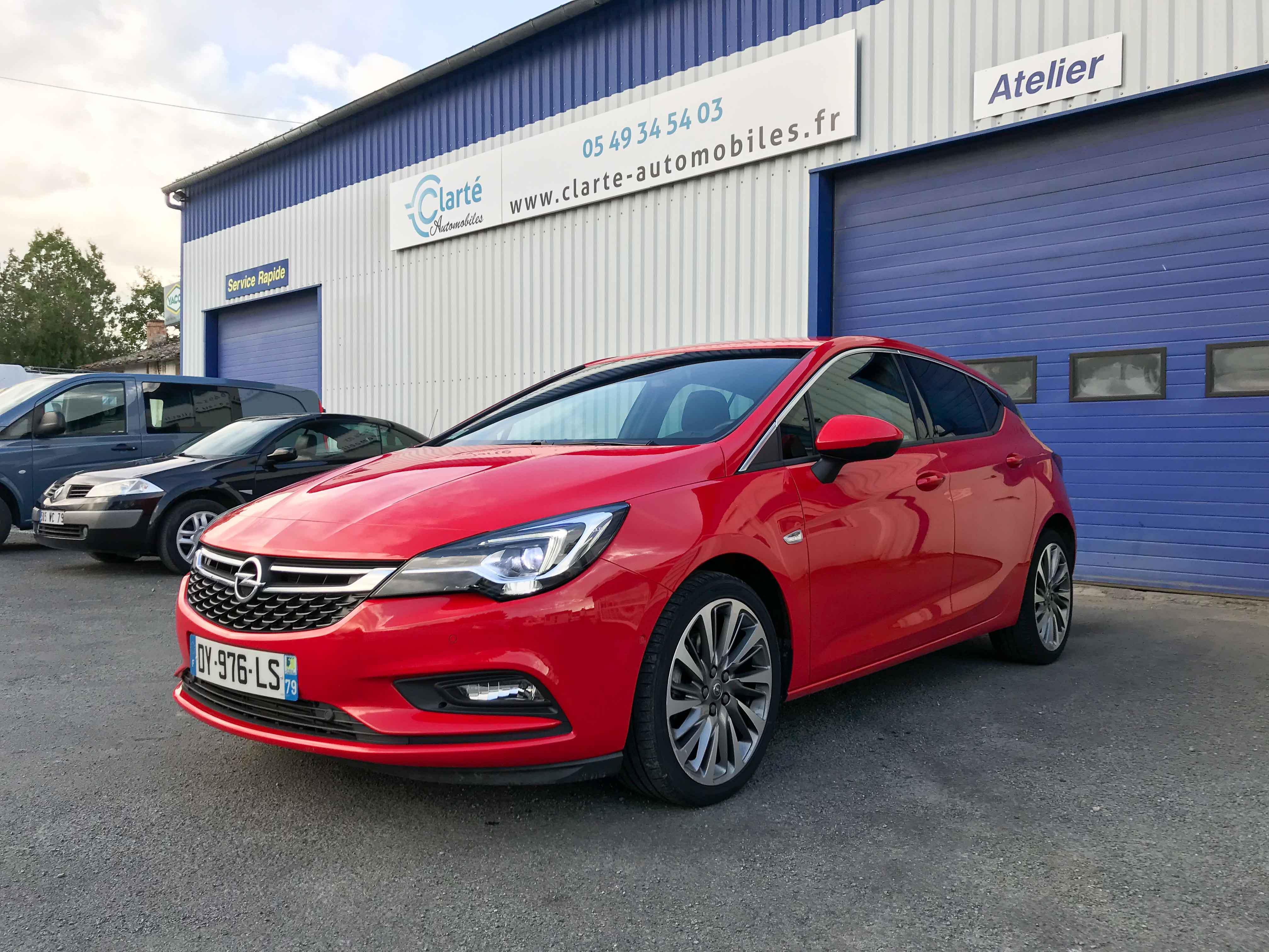 Opel astra clart automobilesclart automobiles for Garage opel niort