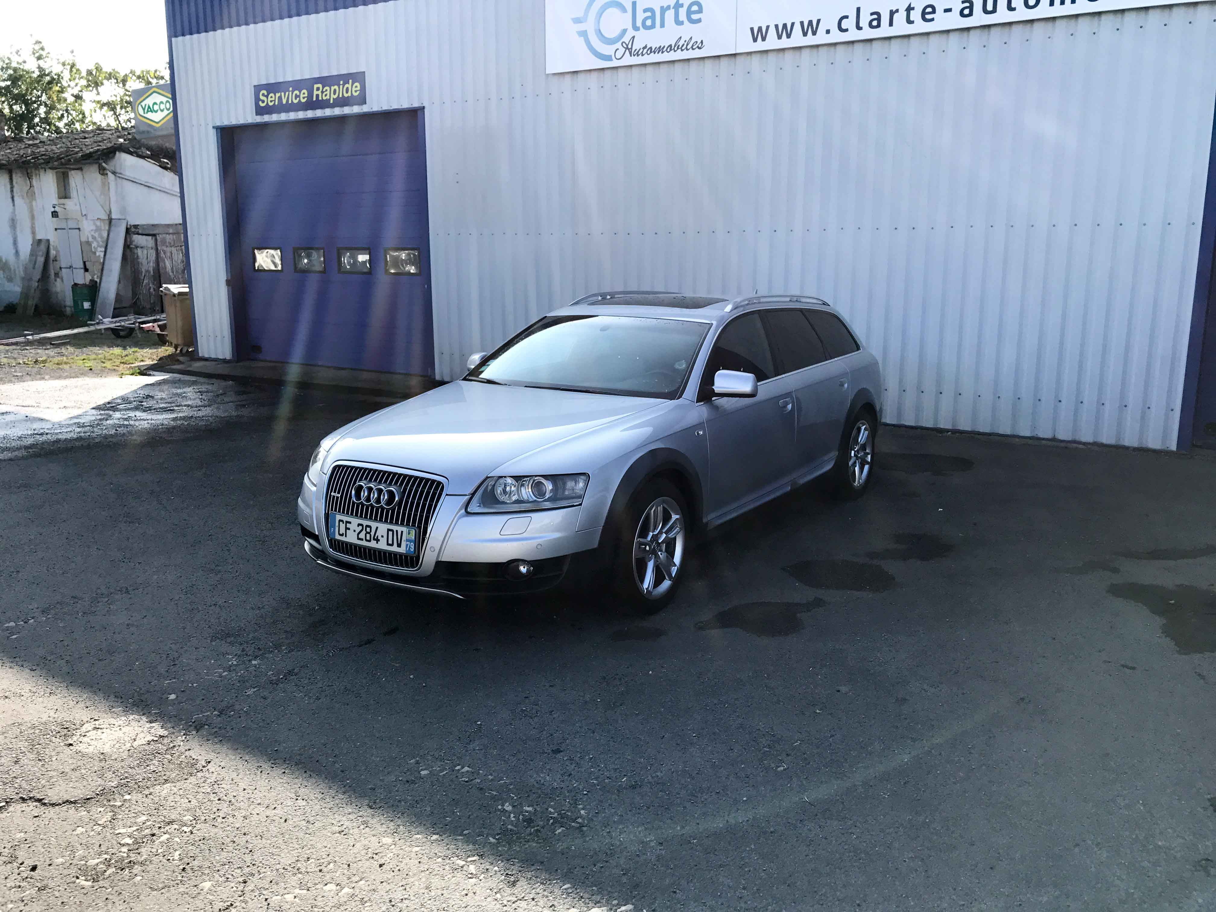 Audi a6 allroad clart automobilesclart automobiles for Garage audi niort
